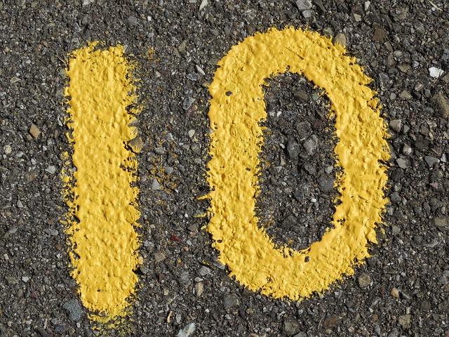 Los diez puntos que cambiarán tu vida