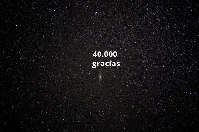 Cuarenta mil gracias